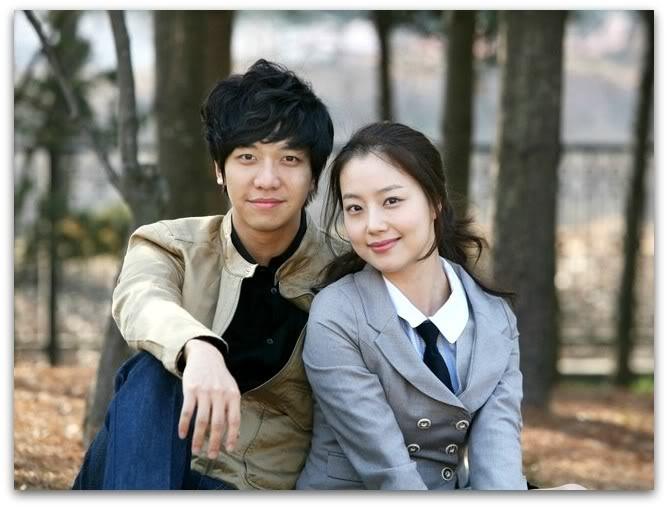 Lee Seung Gi và Moon Chae Won trong phim truyền hìnhBrilliant Legacy (2009)