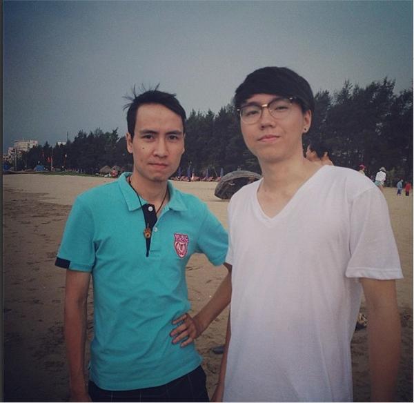 Toàn Shinoda và Lâm Việt Anh