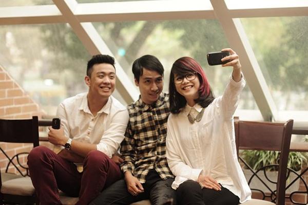 """Toàn Shinoda cùng An Nguy và Huyme là """"bộ ba"""" tại Hà Nội được cư dân mạng yêu thích."""