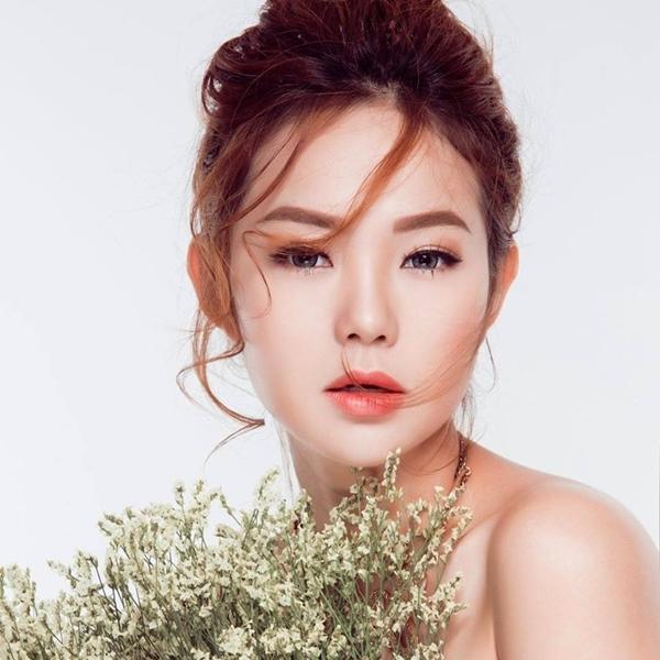 """""""Bé Heo"""" Minh Hằng đốn tim fan với ảnh đại diện xinh lung linh, được lấy trong bộ ảnh thời trang sắp được tung ra của cô nàng."""