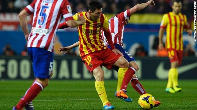 Atletico và Barca sẽ gặp nhau ở vòng 37