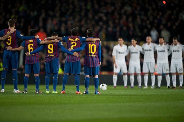 Barca và Real sẽ hẹn nhau ở vòng 9 (26/10)