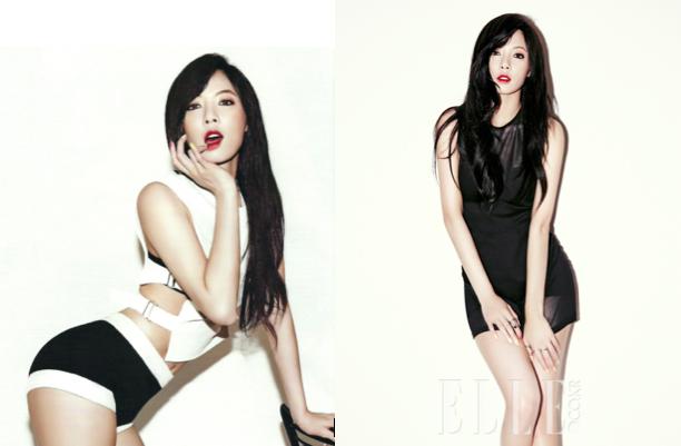 Thí sinh số 5 - HyunA. Nếu trở thành hoa hậu thì chắc chắn HyunA sẽ là cô hoa hậu nóng bỏng và gợi cảm nhất.