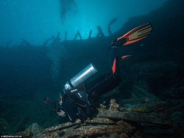 Giờ đây khu vực đắm tàu lại là một địa điểm khá nổi tiếng, nhiều thợ lặn, nhà thám hiểm trên khắp thế giới tìm đến đấy để khám phá xác tàu.