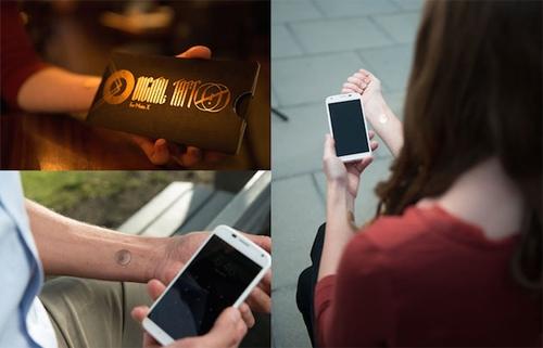 [Công Nghệ] Motorola dùng hình xăm để mở khóa điện thoại