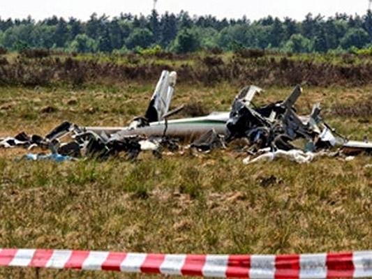 Hiện trường máy bay rơi ở Hy Lạp