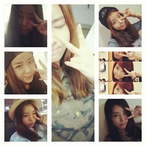 Yubin (Wonder Girls) khiến fan ngất ngây với nhiều hình ảnh cực dể thương.