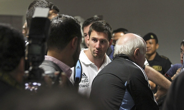 Ngôi sao người Argentina khó mà nói rằng anh vô tội