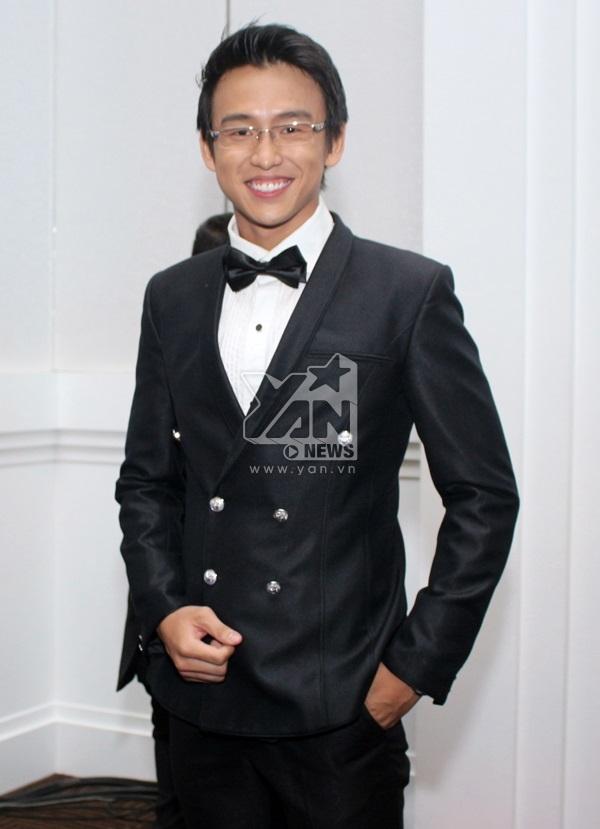 Chàng VJ điển trai Quang Bảo.