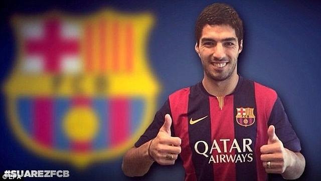 Luis Suarez là một trong những tiền đạo xuất sắc nhất châu Âu