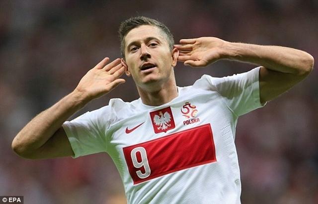 Lewandowski gặt hái thành công ở cả giải quốc nội và cúp châu Âu
