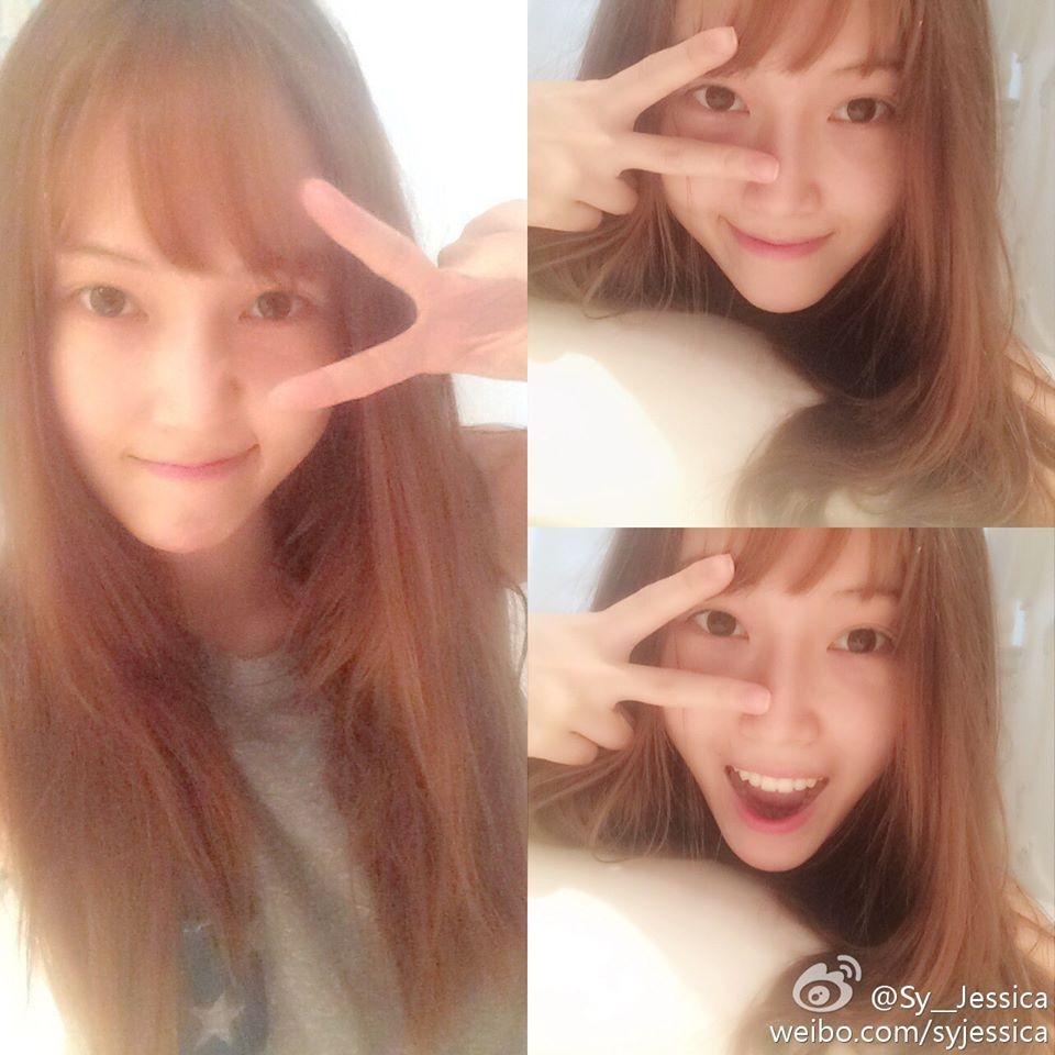 Jessica khoe tóc mới với mái ngố cực đáng yêu
