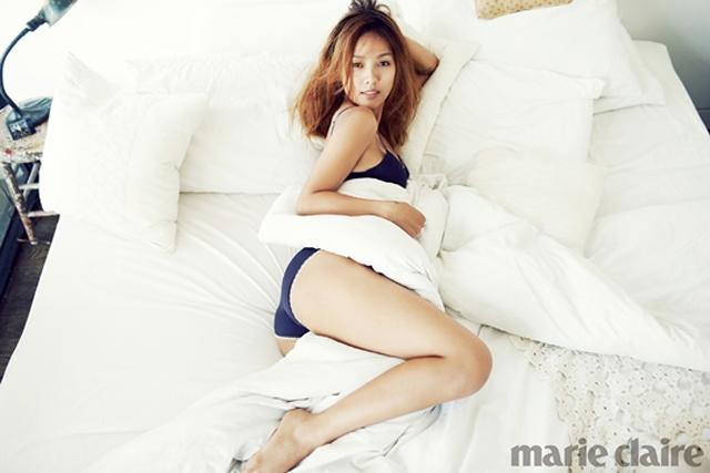 Lee Hyori từng chụp hình nội y nóng bỏng trên tạp chí