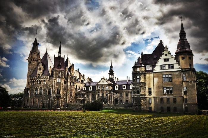 Những toà lâu đài đẹp như cổ tích
