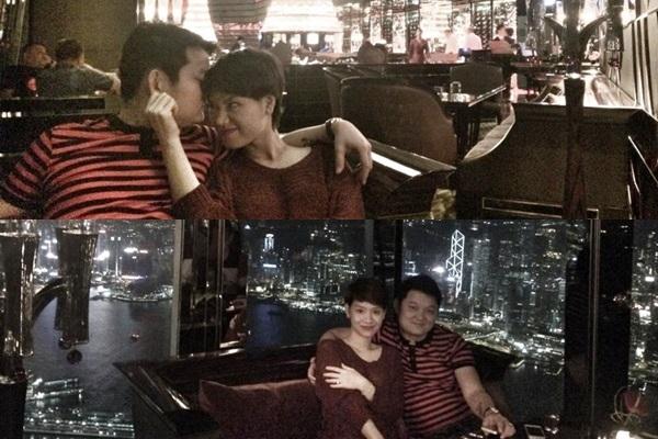 Cặp đôi luôn dành cho nhau những cử chỉ tình cảm và nụ hôn ngọt ngào khi đi du lịch Hong Kong. - Tin sao Viet - Tin tuc sao Viet - Scandal sao Viet - Tin tuc cua Sao - Tin cua Sao