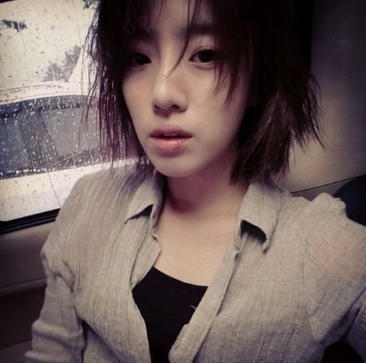 """Eunjung khoe hình """"đầu bù tóc rối"""" nhưng vẫn đáng yêu"""
