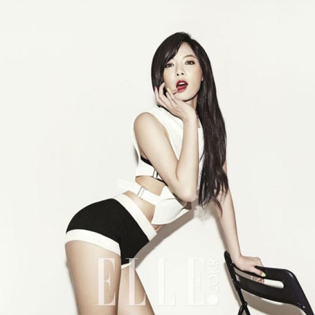 5 bước biến hình thành nữ hoàng quyến rũ Hyuna.