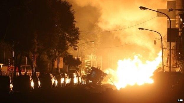 Kinh hoàng nổ khí gas tại Đài Loan, ít nhất 22 người thiệt mạng