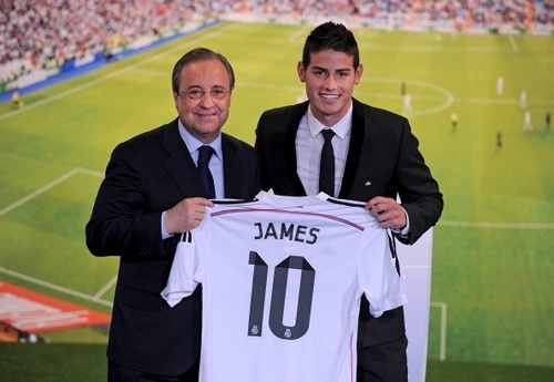[Bóng đá] Tiết lộ sốc đằng sau thương vụ Real mua James Rodriguez