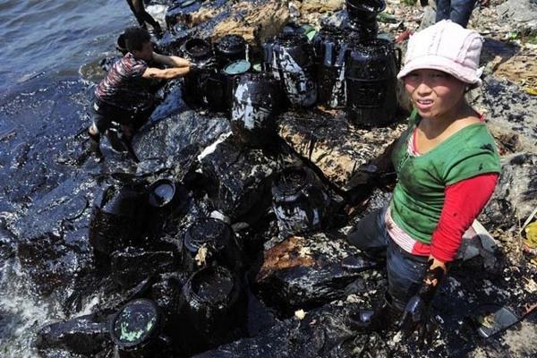 Rò rỉ và tràn dầu đã phá hủy hệ sinh thái và tạo ra những nguồn nước đầy độc hại