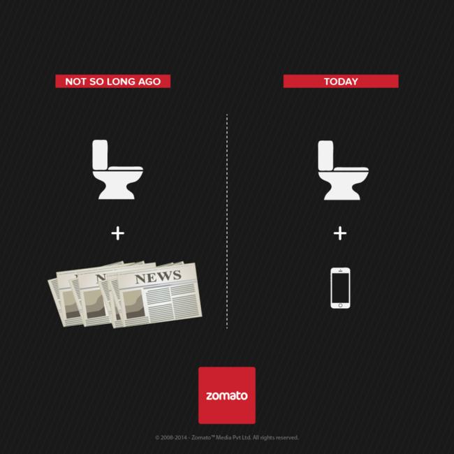 Ai còn giữ thói quen cầm báo vào nhà vệ sinh và ngồi đồng nào? Hay tất cả đã được thay thế bằng một chiếc smartphone, hay máy tính bảng để giết thời gian.