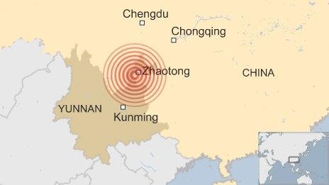 Trung Quốc chấn động vì động đất