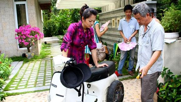 Sao Việt nào không biết đi xe đạp và xe máy?