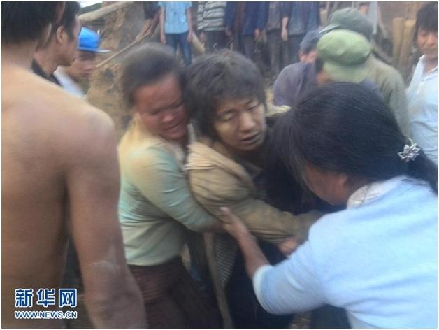 Cảnh tượng kinh hoàng sau trận động đất khủng khiếp tại Trung Quốc