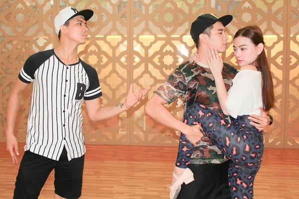Thu Thủy nhảy tango cùng TIM và Hồ Vĩnh Khoa - Tin sao Viet - Tin tuc sao Viet - Scandal sao Viet - Tin tuc cua Sao - Tin cua Sao