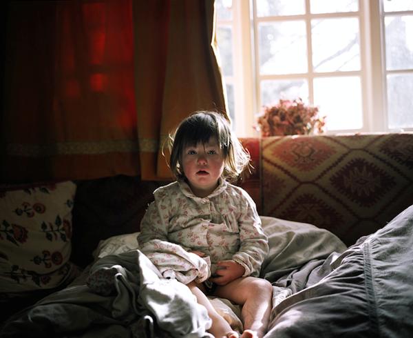 Bộ ảnh đẹp kỳ diệu của bé mắc bệnh down