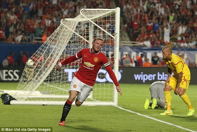 Rooney đưa trận đấu trở lại vạch xuất phát