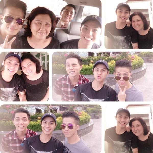 Sau những ngày tất bật chạy show, anh chàng Noo Phước Thịnh đã tự thưởng cho bản thân một chuyến du lịch nghỉ dưỡng cùng với mẹ và những người bạn thân thiết của mình.