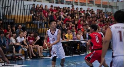 Với lợi thế sân nhà, đội bóng rổ RMIT Việt Nam hứa hẹn sẽ không làm phụ lòng khán giả.