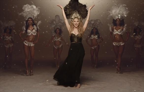 """Shakira trong MV """"La la la"""""""