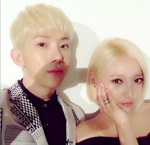 Jokwon khoe hình tạo dáng cùng Min