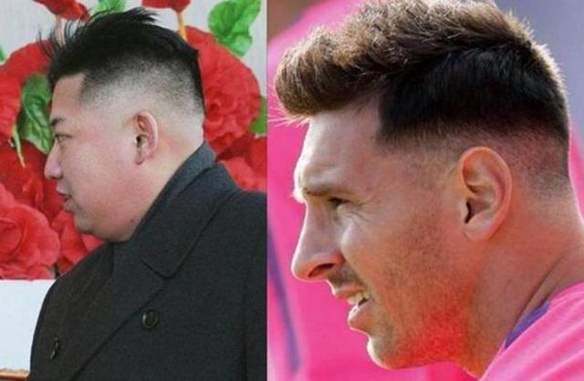 Mẫu tóc mới của Messi hao hao kiểu tóc của Chủ tịch CHDCND Triều Tiên, Kim Jong-un