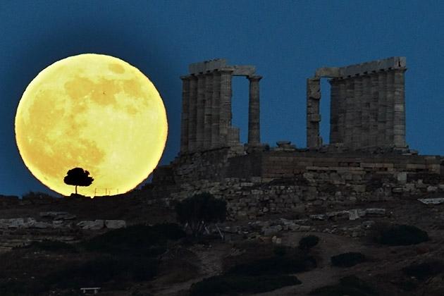 """Đón xem """"siêu trăng"""" cực đại vào ngày 11/8 sắp tới"""