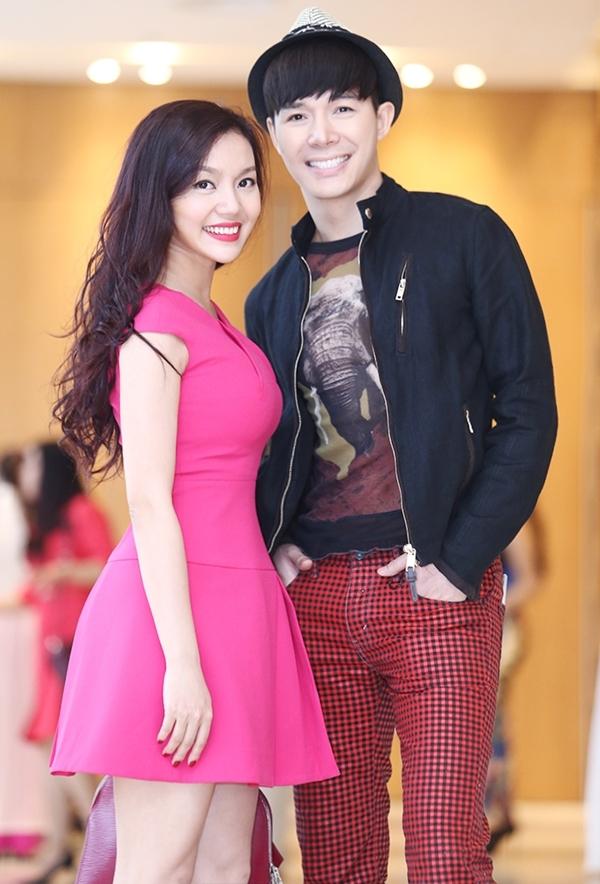 Nathan Lee và Ngọc Anh dính như sam khi tham gia sự kiện