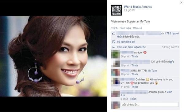 """Mỹ Tâm được công nhận là """"Siêu sao ca nhạc tại Việt Nam"""". - Tin sao Viet - Tin tuc sao Viet - Scandal sao Viet - Tin tuc cua Sao - Tin cua Sao"""