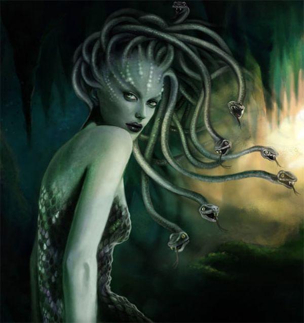"""Nhiều người cho rằng hình ảnh đã """"mượn"""" ý tưởng từ quỷ Medusa trong thần thoại Hy Lạp..."""