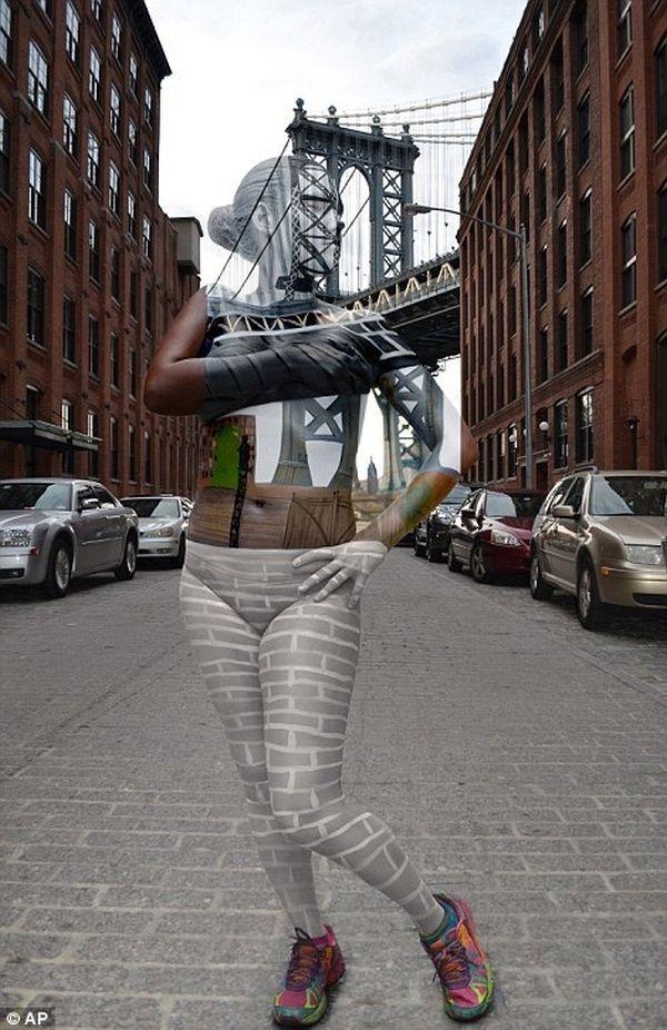 Ẩn mình xuất sắc trước cây cầu nổi tiếng Manhattan