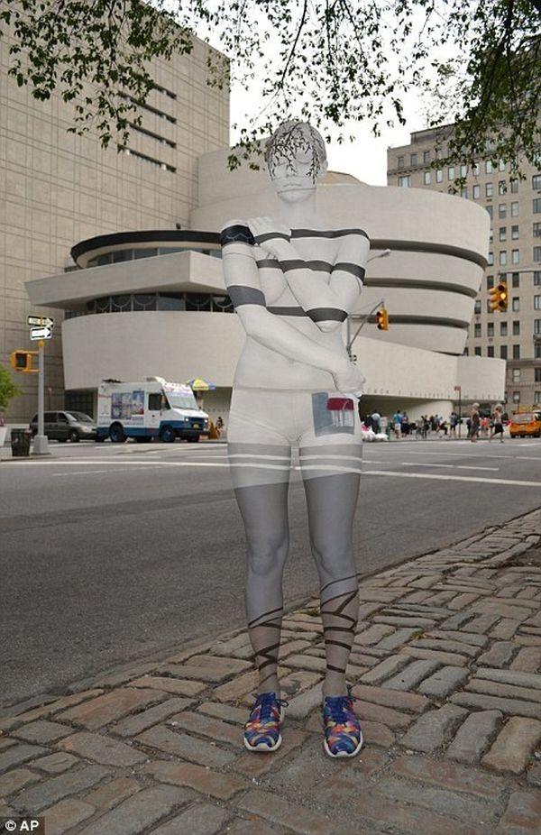 Bảo tàng Guggenheim. Từng nhánh cây cũng được chăm chút tỉ mỉ