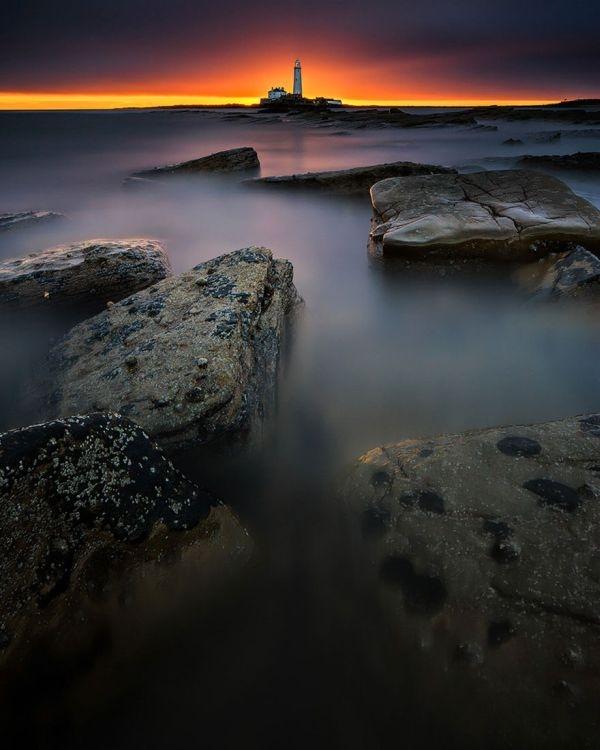 Ngọn hải đăng St Mary, đảo Bait, Vương quốc Anh