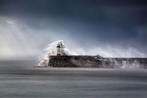 Ngọn hải đăng Breakwater Newhaven, East Sussex, Vương quốc Anh
