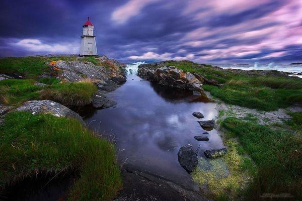 Ngọn hải đăng Molnes, Na Uy