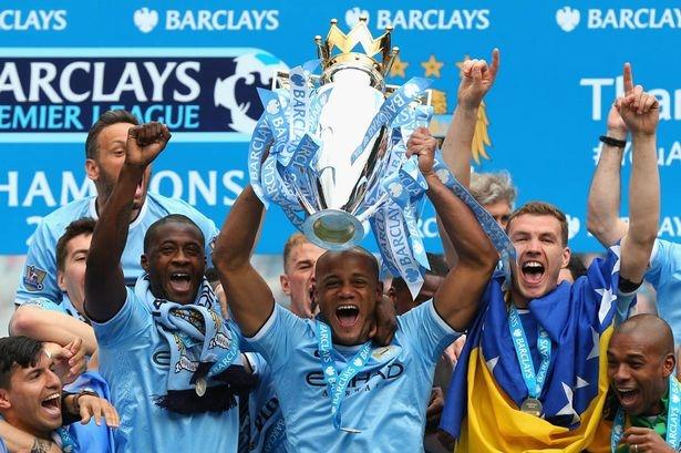 Man City với danh hiệu vô địch ở mùa giải vừa qua