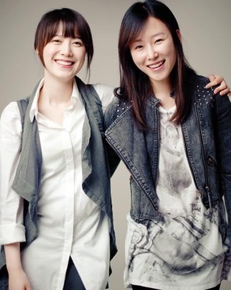 Goo Hye Sun và Seo Hyun Jin