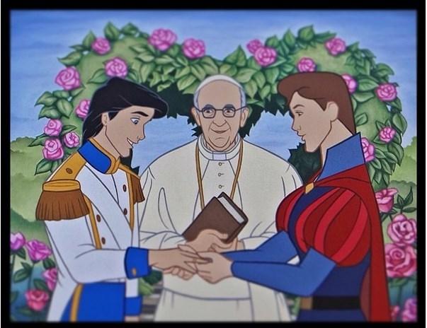 Chuyện gì xảy ra nếu nhân vật Disney gia nhập cộng đồng LGBT
