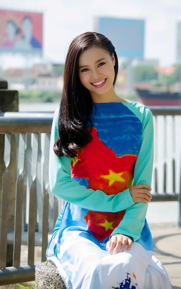 """Vừa qua, Ninh Dương Lan Ngọc gây được sự chú ý khi cô đảm nhận vai trò gương mặt đại sứ cho chương trình thuyện nguyện""""BST – Kết nối nụ cười trái tim""""."""