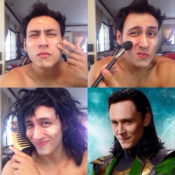 Bạn muốn trở thành Loki? Đây là một cách để bạn tham khảo